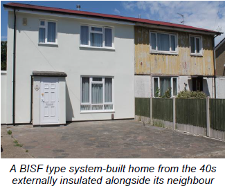 BISF type system-built home