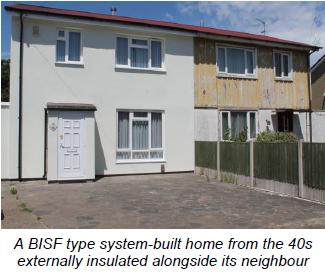 BISF type system-built home