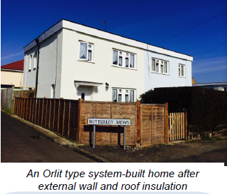 Orlit type system-built home