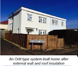 Orlit type system-built home